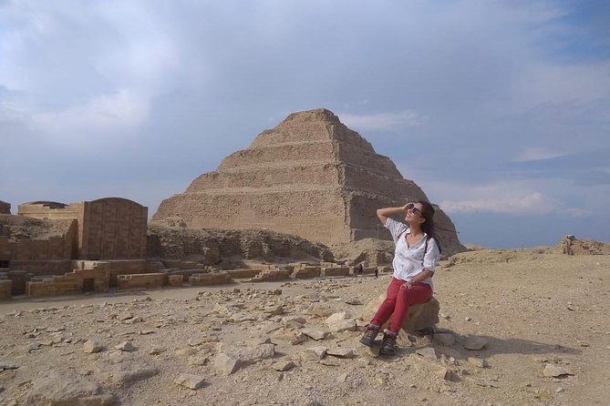 Private Guided Day-Tour to Pyramids of Giza Saqqara and Dahshur from Cairo photo 2