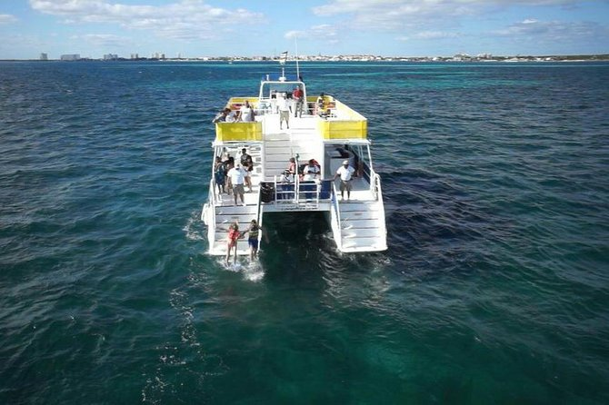 Catamaran Isla Mujeres Unlimited Departing from Cancun