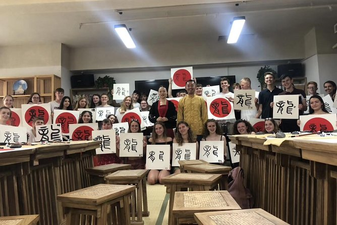 Chinese Calligraphy Class for Small Group
