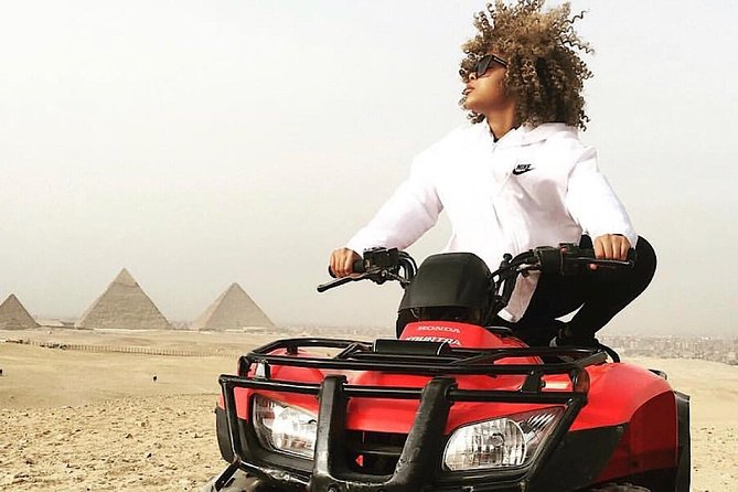 Quad Bike at Giza Pyramids