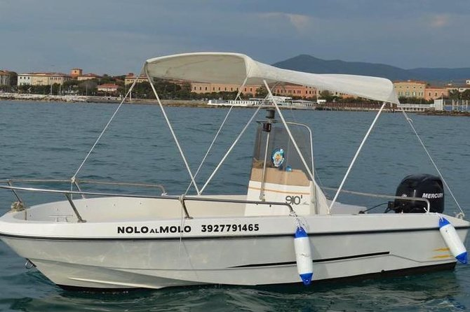 Boat rental gio mare 2 4.5 mt with mercury engine 40 hp 4 t - Without driver