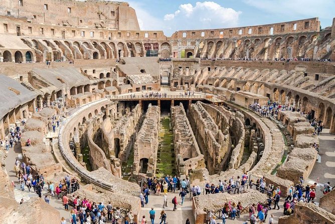 Skip the Line Colosseum Arena Floor Ticket & Optional Tour Guide Access Upgrade