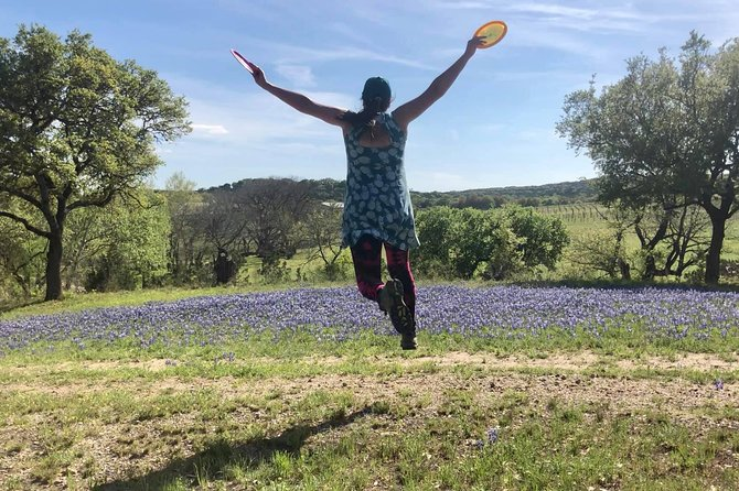 Enjoy the Hill Country & Play Disc Golf