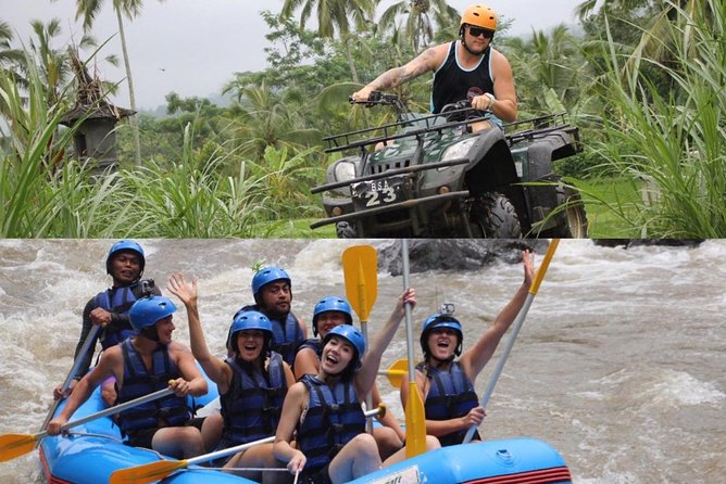 Quad Bike and Rafting Adventure through Bali Countryside
