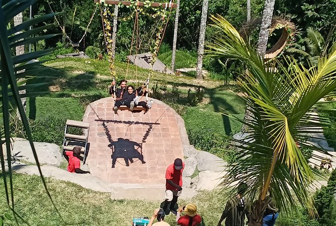 Ubud tour and swing