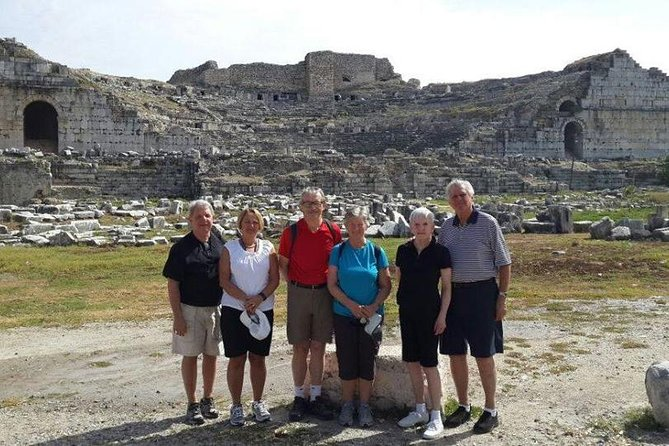 Shore Excursions : Ancient of Priene & Miletos & Karine (Doganbey Village)