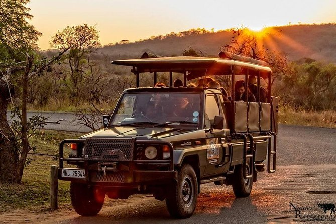 Night Game Drive and Bush Dinner from Victoria Falls