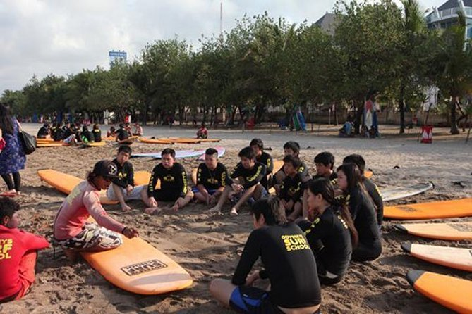 Bali Odyssey Surf Lessons with Private Transport (1 Instructor : 4 persons)