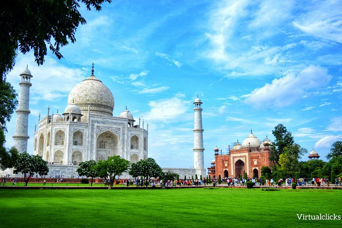 Private Exclusive Taj Mahal & Agra Fort City Tour