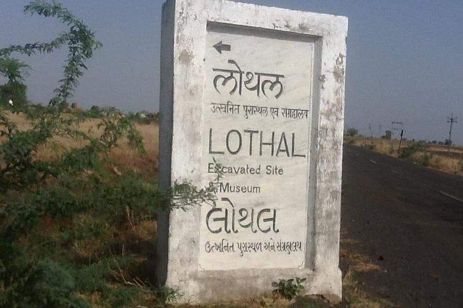 Privat turné Hela dagen Lothal Utelia med Ahmedabad-guide och ingångar