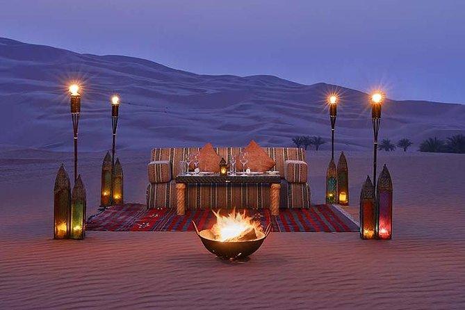 Qasr Al Sarab desert resort Private Desert Dinner & Liwa Safari by 4x4