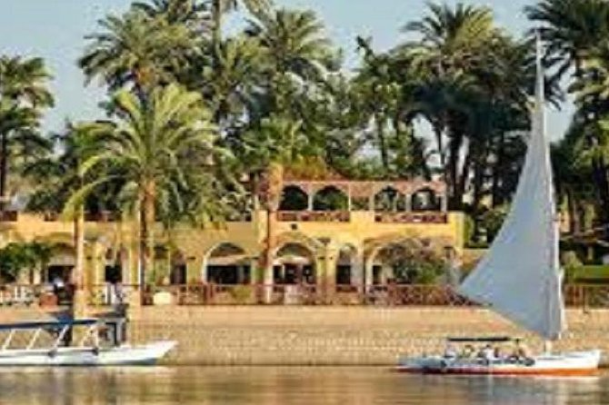 Luxor: Felucca Boat Ride with Banana Island Visit