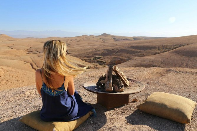 Desert Agfay Day Trip From Marrakech And Atlas Mountains & Camel Safari