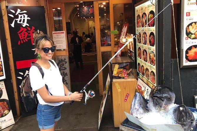 Vamos a dar un paseo gastronómico en el mercado exterior de Tsukiji.