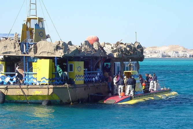 50 Minute Submarine Journey in the Red Sea Including Transport from Hurghada photo 7