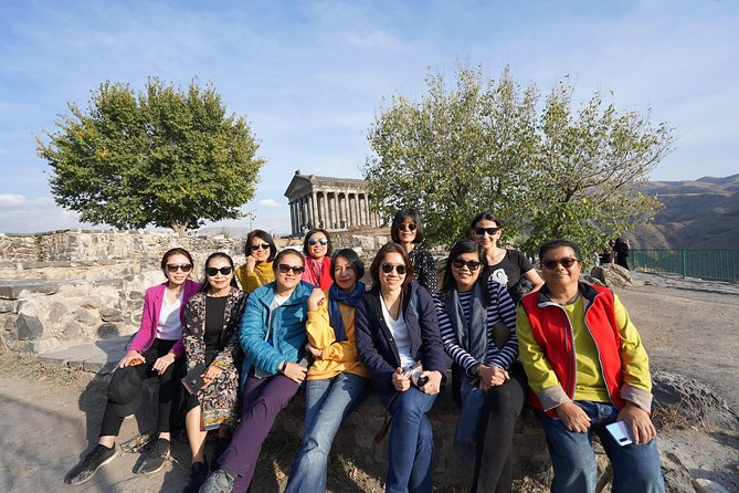 Day trip to: Garni Temple, Geghard Monastery, Lunch, Different Master classes