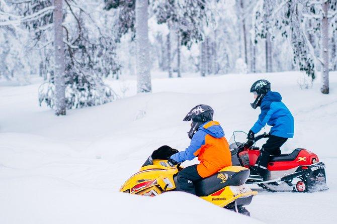 Lapland Family Snowmobile Safari from Rovaniemi