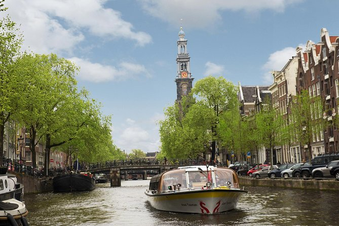 Amsterdam Combo: Amsterdam Canal Cruise and optional admission to an attraction