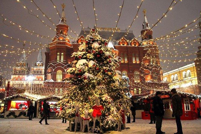 Christmas tour to Moscow (1 to 3 days)