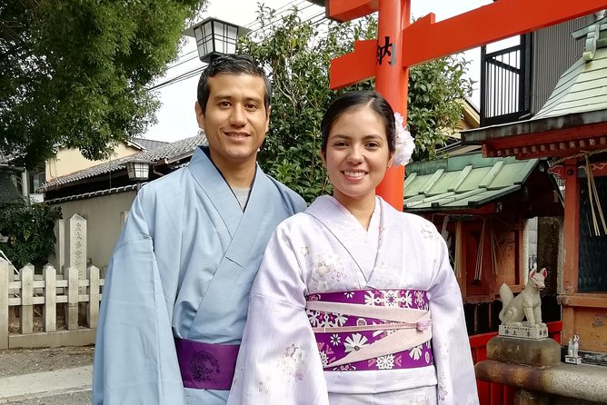 Get you dressed in Kimono and taste sake and go to the photo spot. photo 3