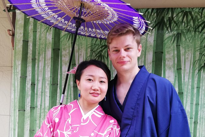 Get you dressed in Kimono and taste sake and go to the photo spot. photo 7