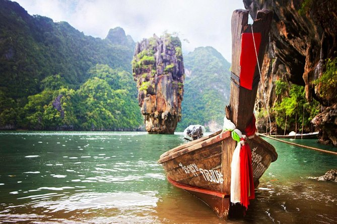 Phang Nga James Bond Canoe Tour by Long-tail Boat with Lunch photo 1
