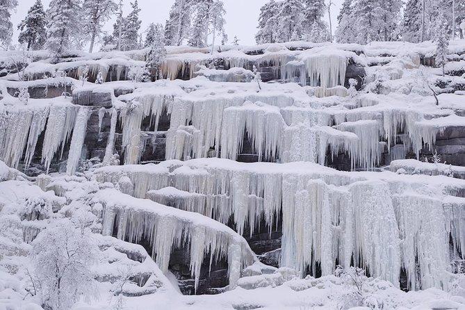 Rovaniemi - Visit to The Frozen Waterfalls of Korouoma