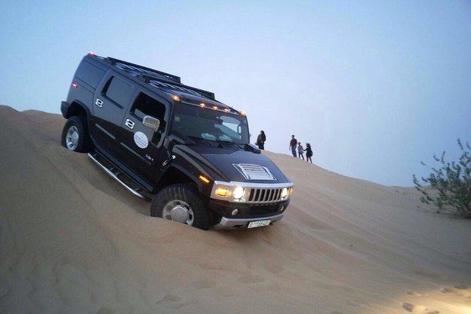 Private Hummer Desert Safari Abu Dhabi with Hot BBQ Dinner