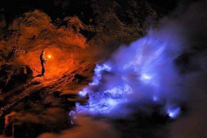 Open trip ijen (blue fire) -sunrise-waterfall