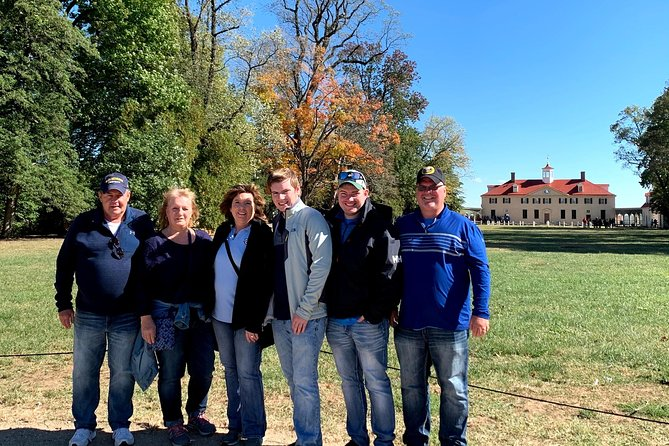 The Parrett Family on a beautiful day at Mount Vernon