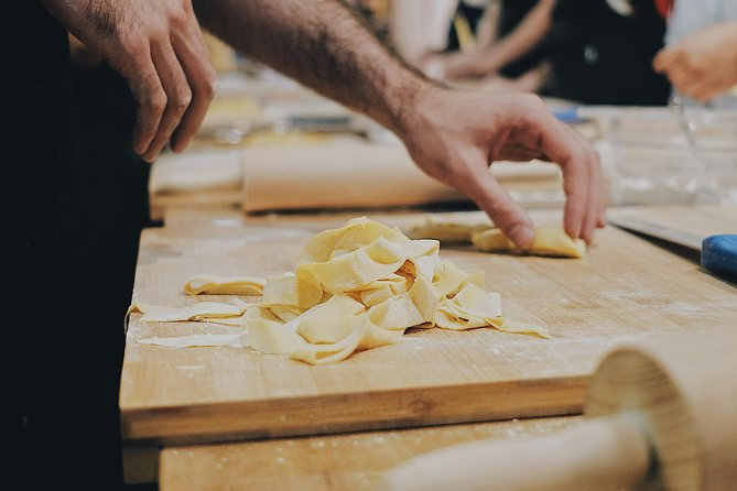 Pasta Making with Wine Tasting and Dinner in Frascati