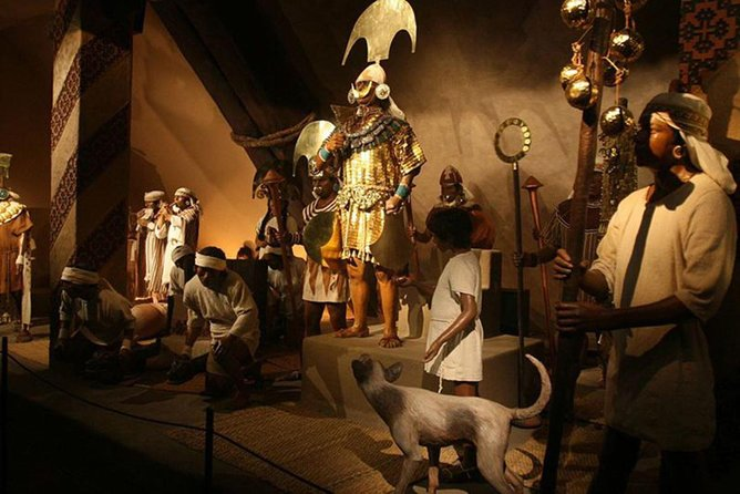Daily excursion to Sipán (museum and archeological site) we start earlier.