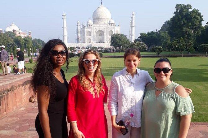 From Delhi - Taj Mahal sunrise tour and on return back old Delhi walking tour
