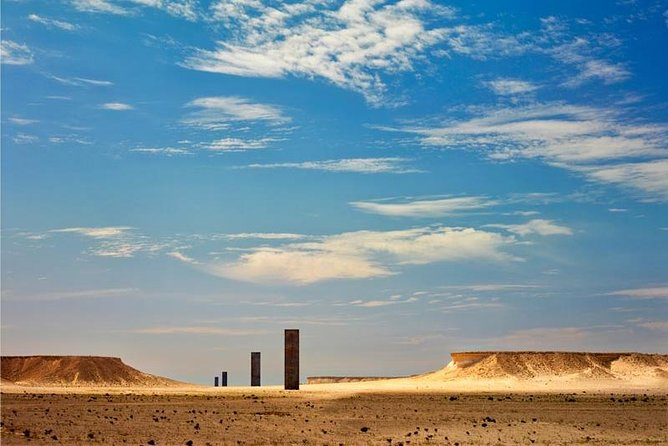 Qatar West Coast tour, Zekreet, Richard Serra Sculpture, Mushroom Rock Formation