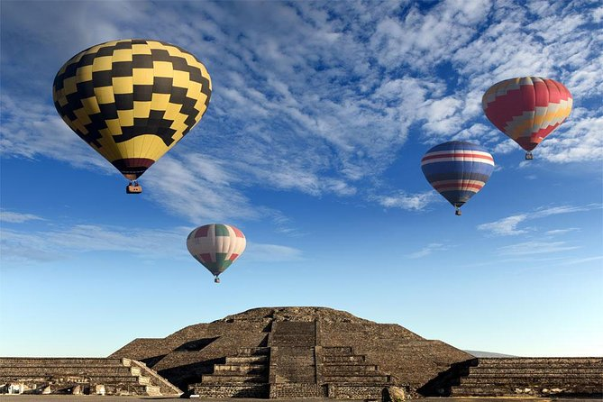 ⭐ Balloon ride over TEOTIHUACAN⭐ (private or shared )
