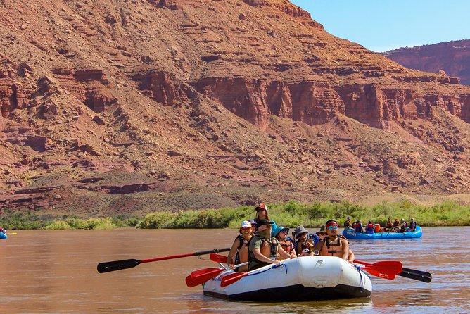 Moab Rafting Middag 1/2 dagtrip