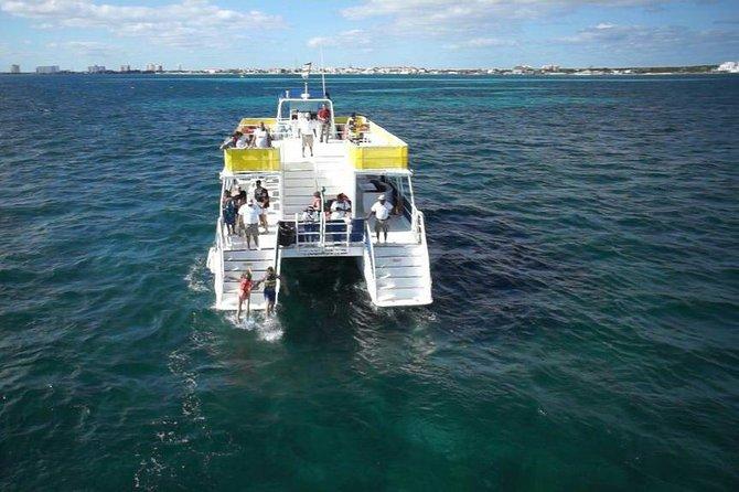 Sail Over the Caribbean Sea Catamaran Isla Mujeres Unlimited