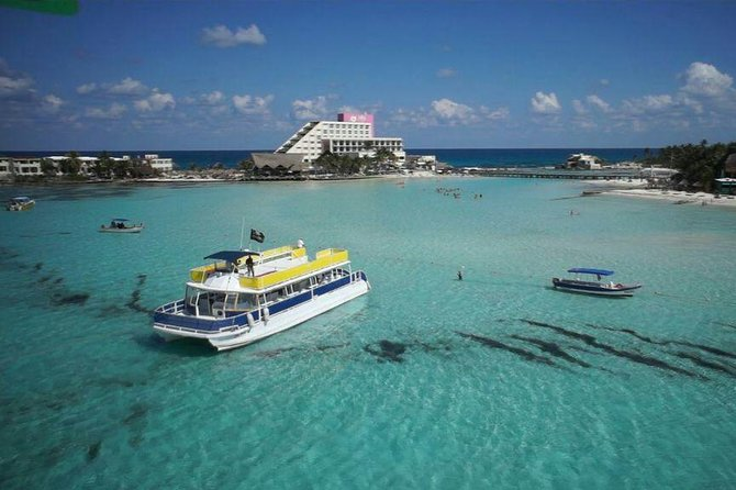 Catamaran Adventure Tour Isla Mujeres Unlimited from Cancun