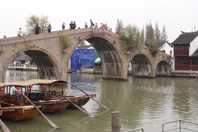 Half Day Shanghai Mini Group Tour to Zhujiajiao Water Town, 1-6 Travelers