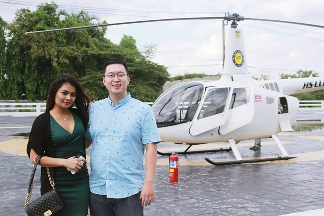 Ayutthaya by Helicopter : The Ancient Capital of Siam Tour from Bangkok