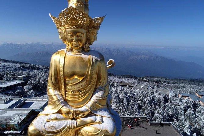 Leshan Giant Buddha and Mt.Emei Full View Tour