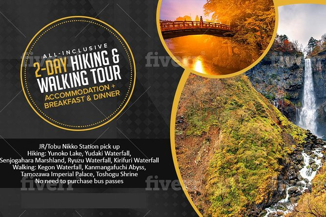 1-Night 2-Day Room & 2 Meals: Hike National Park + Walk Toshogu World Heritage photo 1