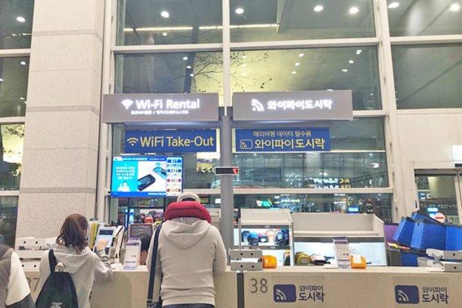 South Korea Unlimited 4G LTE SIM Card from WiFi Dosirak