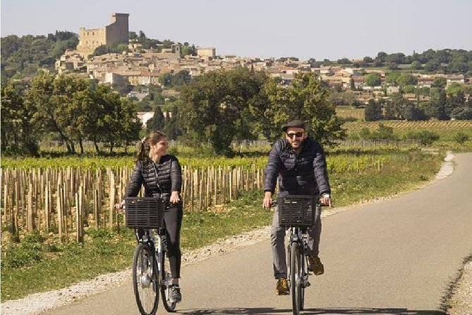 Electric Bike Rental from Châteauneuf-du-Pape