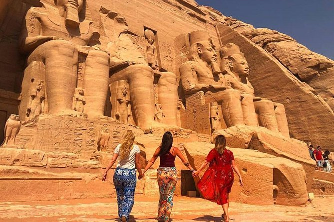 2 days 1 night Luxor and Aswan and Abu simple with Round flight from Cairo