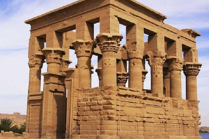 From Aswan: Philae Temple & Motorboat Tour To Nubian Village