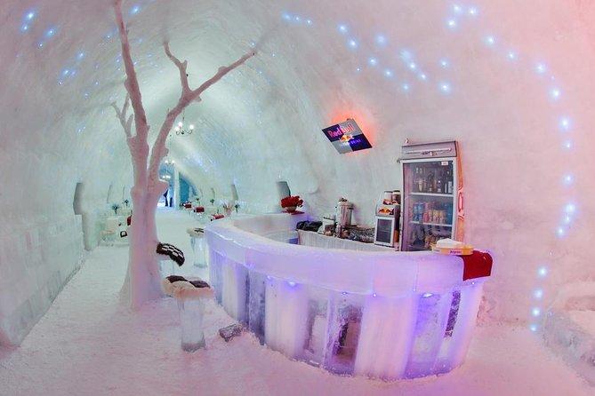 Ice Hotel at Balea Lake, Romania
