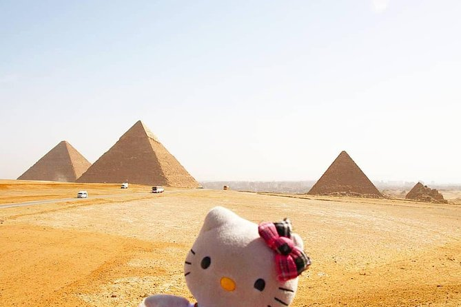 Half Day tour to Visit Giza Pyramids and Sphinx Strat from Cairo Airport