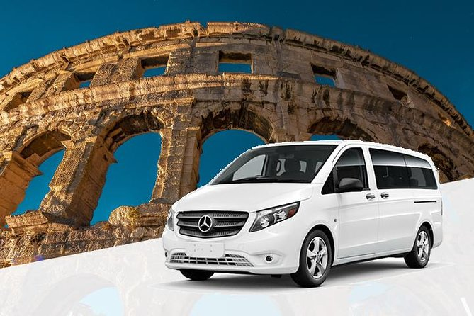Private Transfer from Pula Airport (PUY) to Pula
