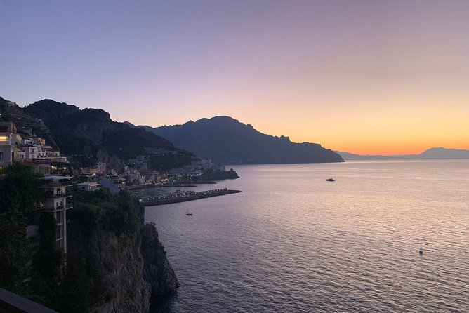 From Naples: Private day tour on the Amalfi coast by led english speaking driver
